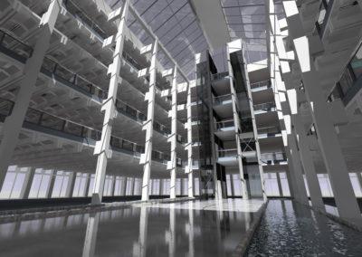 A_daylight_simulation_of_an_atrium_designed_by_Foggo_Arch